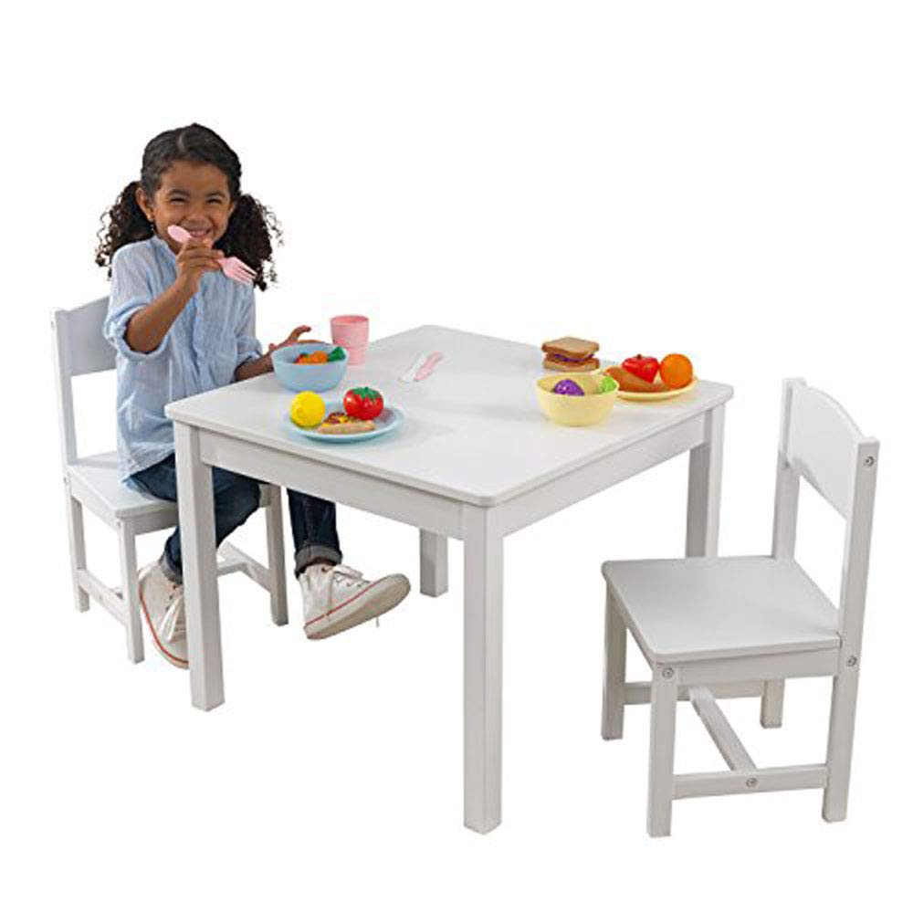KidKraft Aspen Table and Chair Set - White by KidKraft