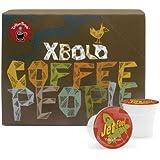 Coffee People Dark Roast, Jet Fuel,  K-Cup Portion Pack for Keurig K-Cup Brewers, 24-Count (Pack of 2)