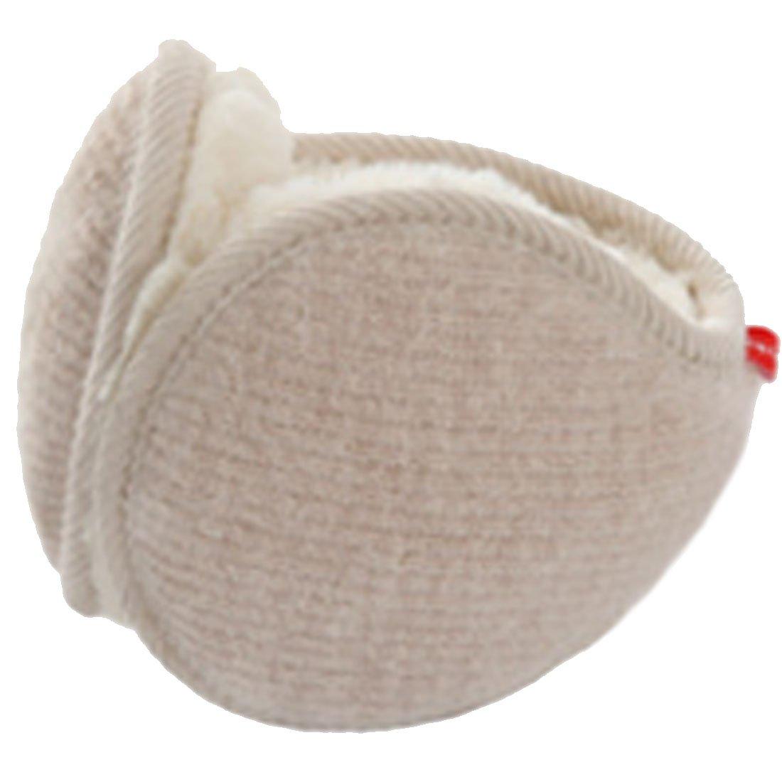 LerBen Unisex Knit Adjustable Wrap around Ear Muffs Winter Warm Fur Ear Warmers
