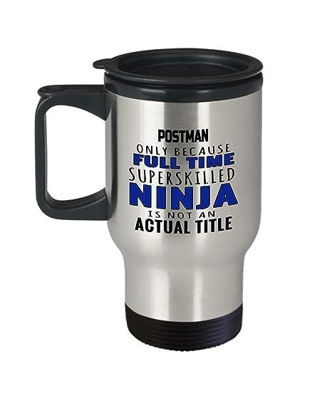 Amazon.com: Postman Travel Mug - Funny Gift For Postal ...