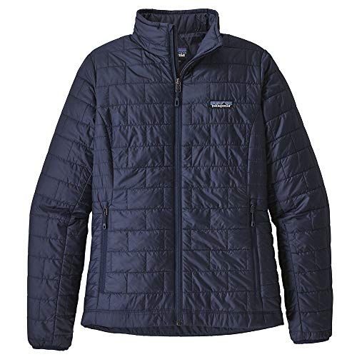 Patagonia Women's Nano Puff Jacket - Classic Navy, Medium from Patagonia