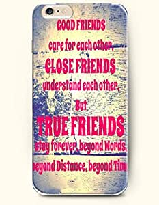 iPhone Case, SevenArc iPhone 6 (4.7) Hard Case **NEW** Case with the Design of good frienss care for each other, close...