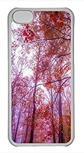 iPhone 5c case, Cute Foggy Colors iPhone 5c Cover, iPhone 5c Cases, Hard Clear iPhone 5c Covers