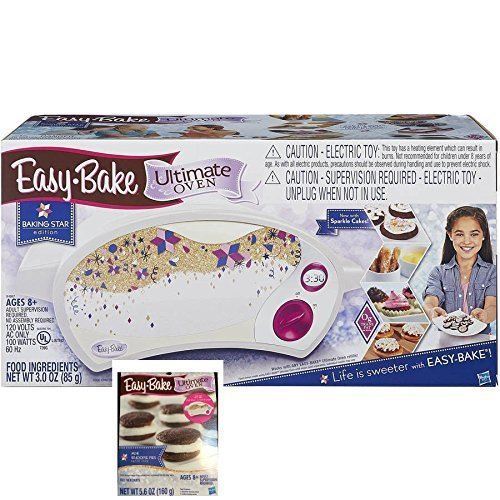 Easy Bake Ultimate Oven Baking Star Play Set with Bonus Refill Mix Whoopie Pies by Easy Bake
