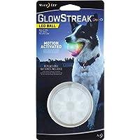 Nite Ize Glowstreak LED Boule de chien, s'allume pour le jeu de nuit