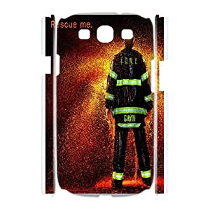 Samsung Galaxy S3 I9300 Csaes Cell Phone Case Firefighter Emblem CBQG290606
