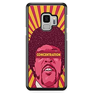 Loud Universe Concentrate Pulp Fiction Samsung S9 Case Jules Winnfield Samsung S9 Cover with Transparent Edges