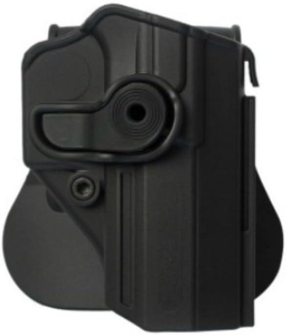 IMI Defense Tactical Roto Holster de polímero para Jericho/Baby Eagle PSL (9mm/.40) Pistola Handgun