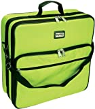 Tutto Embroidery Bag 19''X17''X6''-Lime