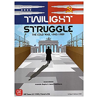 GMT Games Twilight Struggle Deluxe Edition: Toys & Games