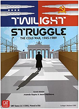 Twilight Struggle GMT Games GMT 0510-09 The Cold War 1945-1989 - Juego de Mesa temático de Guerra y Estrategia (2 Jugadores, Importado de Reino Unido): Twilight Struggle The Cold War 1945-1989 Board