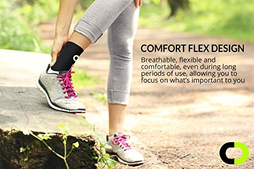 09635c7f70 Ankle Brace Compression Sleeve for Men & Women (1 Pair) - BEST Ankle Support