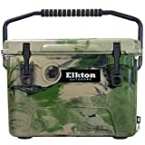 Elkton Outdoors Ice Chest. Heavy Duty, High Performance Commercial Grade Insulated Cooler