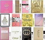 Lot of 12 Vial Samples - Women's Fragrance Sampler