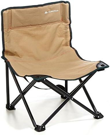 DECATHLON baja QUECHUA silla de CAMPING marrón: Amazon.es ...