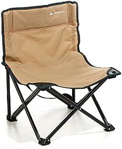 DECATHLON baja QUECHUA silla de CAMPING marrón ...
