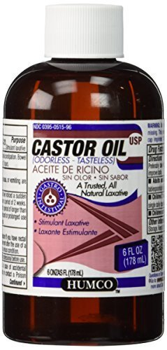 CASTOR OIL HUMCO 6oz by HUMCO HOLDING GROUP, INC. *** by HUMCO