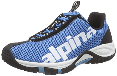 Alpina 680267 - Zapatillas de Trekking y Senderismo de Media Caña Unisex Adulto Azul (Light Blue)