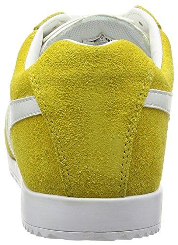 Yellow Fashion Harrier White Gola Women's Cla192 Sneaker 7wqBqSaT