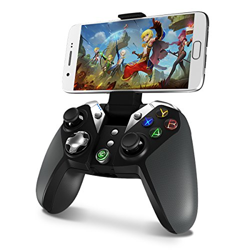 Wireless Bluetooth Game Controller, GameSir G4 Controller Gamepad for Android Phone / TV Box / Samsung Gear VR /Wiindows7,8,8.1,10/Oculus