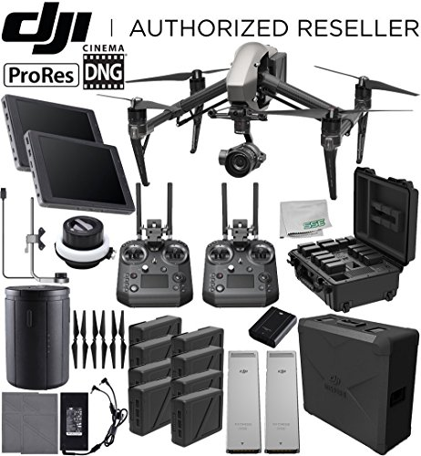 Cheap DJI Inspire 2 Quadcopter Premium Combo Bundle with DJI Inspire 2 Battery Station