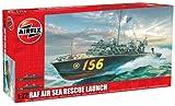 Airfix RAF Rescue Launch Building Kit, 1:72 Scale