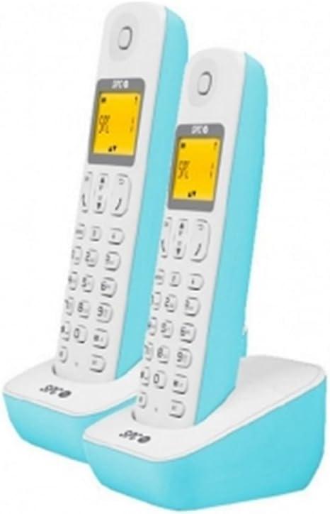 Spc Telecom TEL317282A - Teléfono Fijo, Color Azul: Amazon.es: Electrónica