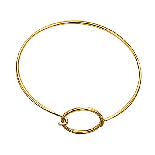 Cewtolkar Women Jewelry Girlfriend Bracelets Anniversary Bangle Gift Chain Birthday Beach Gold