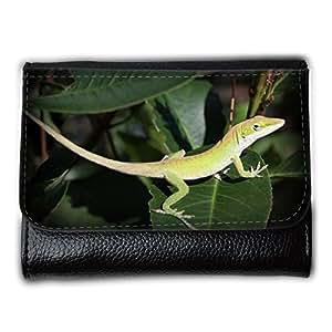 le portefeuille de grands luxe femmes avec beaucoup de compartiments // M00154387 Textura de la hoja lagarto reptil // Medium Size Wallet