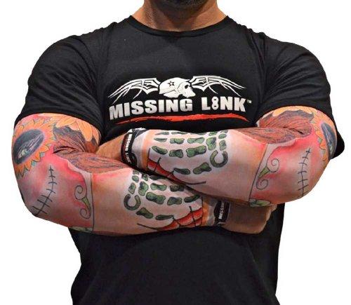 Missing Link SPF 50 Stitched-N-Time ArmPro (Multi Color, X-Large)