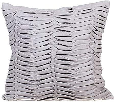 Amazon Com 22x22 Inch 55x55 Cm Throw Pillow Covers Grey
