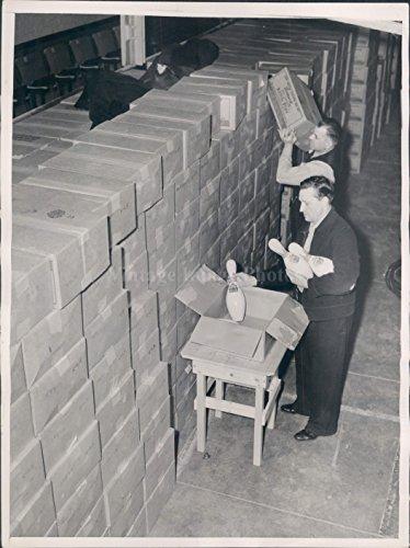 1937 Photo Box Ten Pin Bowling Regiment Armory Congress Arrival Shipment - Pin Regiment