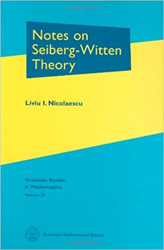 Notes on Seiberg-Witten theory