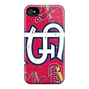 Apple Iphone 4/4s PUQ12723YfXP Customized Vivid St. Louis Cardinals Image High Quality Hard Phone Cover -CharlesPoirier