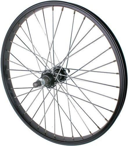 - KHE Bikes CLATCH 36H Bb Hub Front Wheel, Black, 10mm