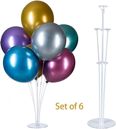 25 White Balloon Cups /& Sticks for latex balloons to stand upright free delivery