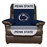 Reversible Couch Cover - College Team Sofa Slipcover Set / Furniture Protector - NCAA Officially Licensed (Recliner, Penn State Nittany Lions (PSU))