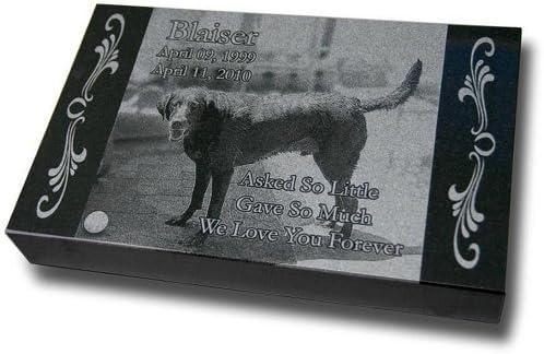 Xx Large Premium Pet Headstone Pet Grave Markers Pet Gravestones Pet Memorials