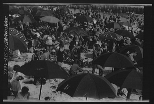 1927 Photo New York City views, Long Beach vintage black & white photo F400 ()