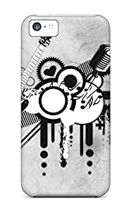 Iphone 5c Cover Case - Eco-friendly Packaging(abstract Music)