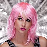 Blush KHARMA Fantasy Style Synthetic Wig Cotton Candy Pink