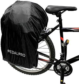 PedalPro - Funda impermeable para alforja doble de bicicleta ...