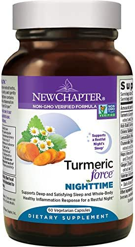 Vitamins & Supplements: New Chapter Turmeric Force Nighttime