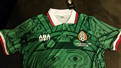 1998 Retro ABA Sports Mexico World Cup soccer jersey Size XL