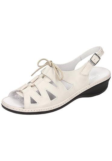 Comfortabel Damen-Sandale Zwei-/Mehrfarbig 710868-0, Grösse 39
