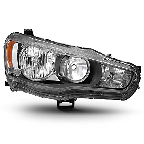 For 08-17 Mitsubishi Lancer 08-12 Lancer Evolution Halogen Type Passenger Right Headlight Replacement
