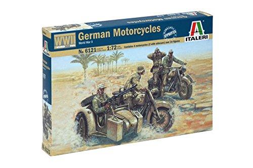 Italeri 5100061211: 72WWII German Motorcycles