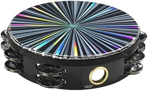 "Remo TA-4108-48 Radiant Tambourine Double 8"" Drum Multi"