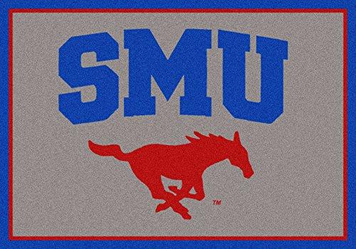 Milliken Southern Methodist (SMU) Mustangs 5' x 8' Team Door Mat