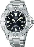 SEIKO ProspEx diver scuba solar ppm backlash prevention bezel black SBDN009 men's watch, Watch Central